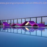 ghế tắm nắng composite sài gòn