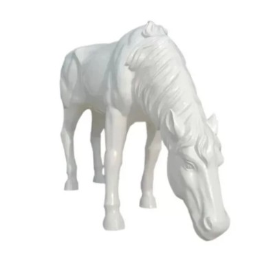 Mô hình ngựa composite trang trí