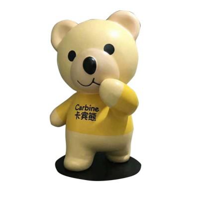 Tượng mô hình gấu bằng sợi thủy tinh