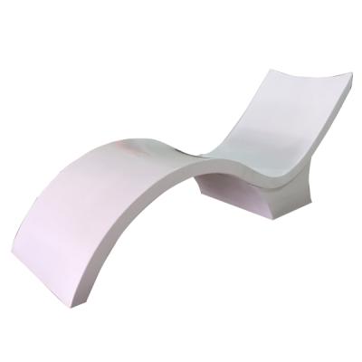 Ghế tắm nắng hồ bơi composite có chân hình chữ s