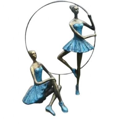 Tượng vũ công ballet trang trí composite