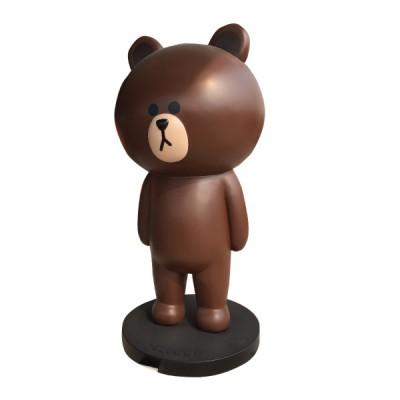 Mô hình composit tượng gấu lớn trang trí