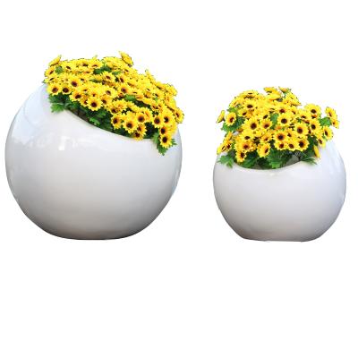 Chậu hoa  frp lớn chống thấm hiện đại