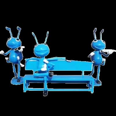 Ghế composite chú kiến xanh