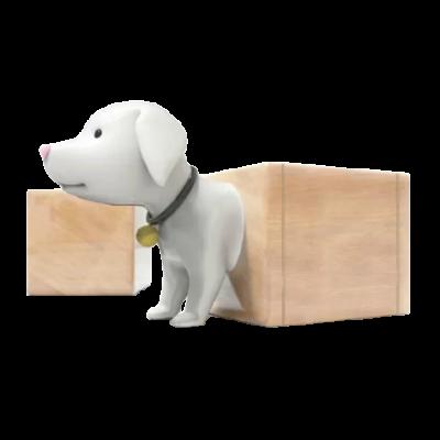 Ghế dài hình chú chó cho không gian công cộng