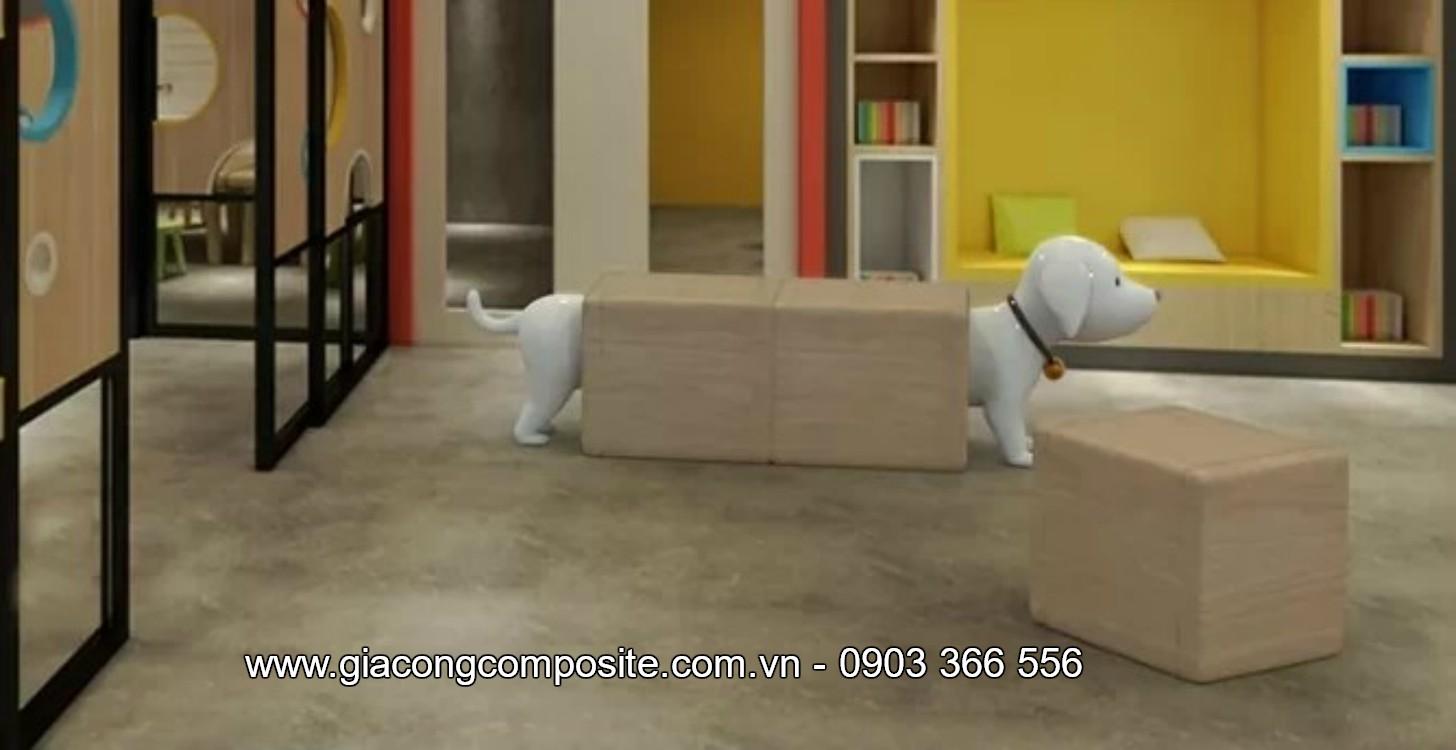 Ghế nhựa composite cao cấp