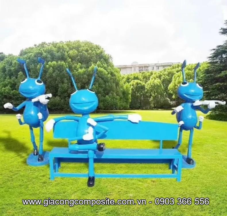 Nhận làm ghế composite theo yêu cầu