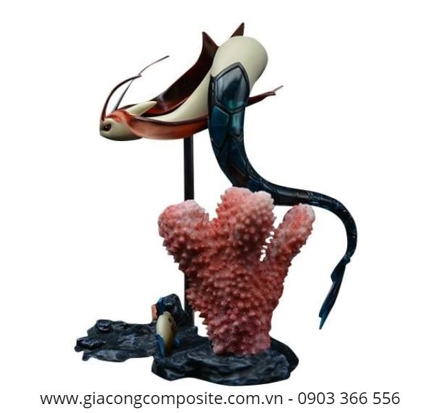 Sản xuất mô hình bằng composite