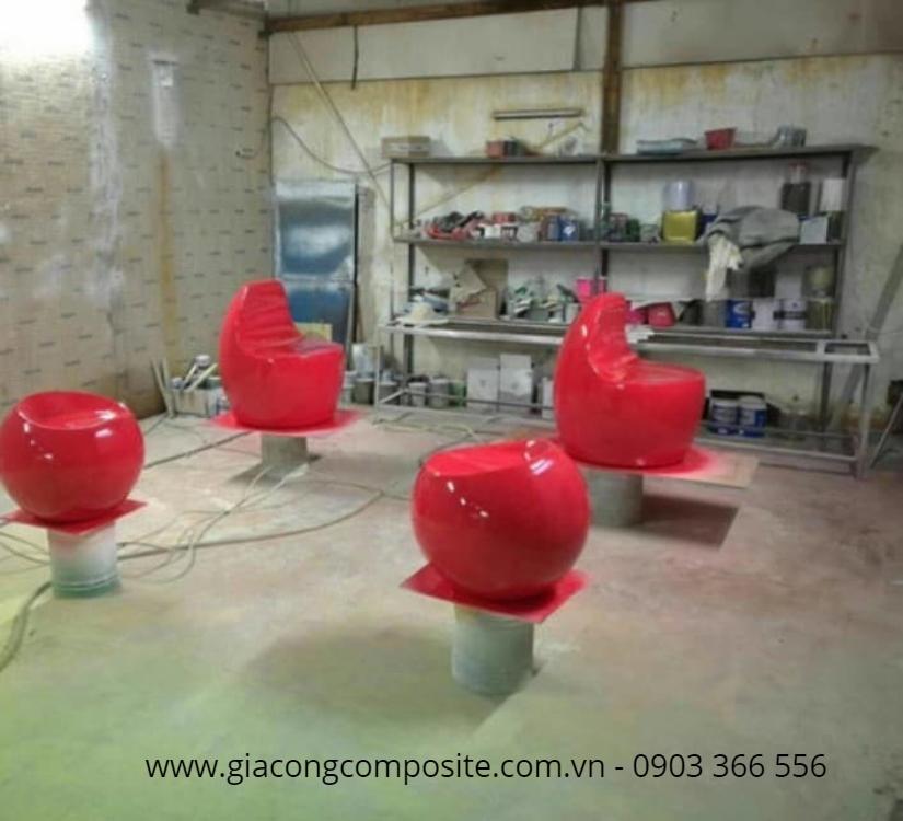 Xưởng sản xuất bàn ghê composite trực tiếp tại HCM