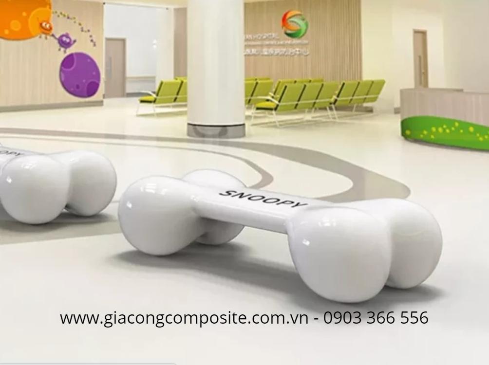 Xưởng sản xuất ghế composite tại HCM